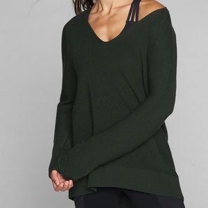 Athleta Merino V Neck Sweater